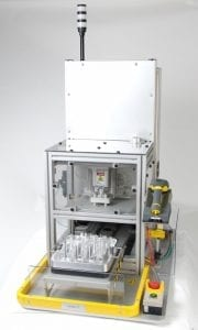 Reagent cartridge sealing automation