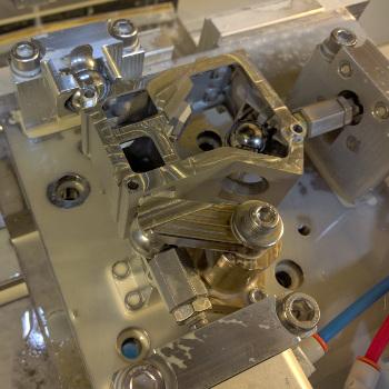 Camera housing kinematic machining