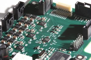 Custom motion and temperature control boards for AccuVax